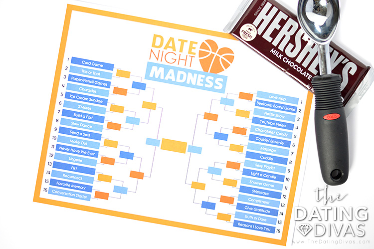 March Madness Date Night List of Choices and Ideas