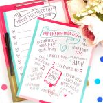 Mother's Day To-Do List