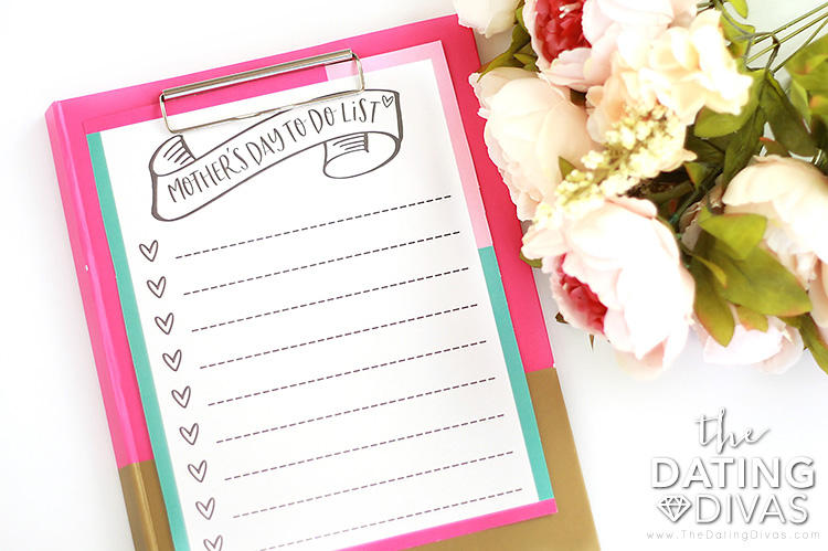Mother's Day To-Do List Gift