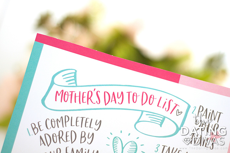 Mother's Day To-Do List Gift Idea