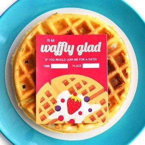 Easy Waffle Love Invite