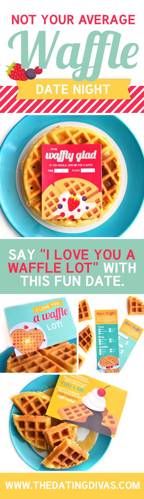 Waffle Love Date Night #WaffleLove #WaffleDate