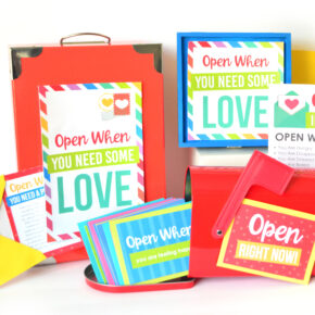 Open this Open When Letters Kit when you need some love!