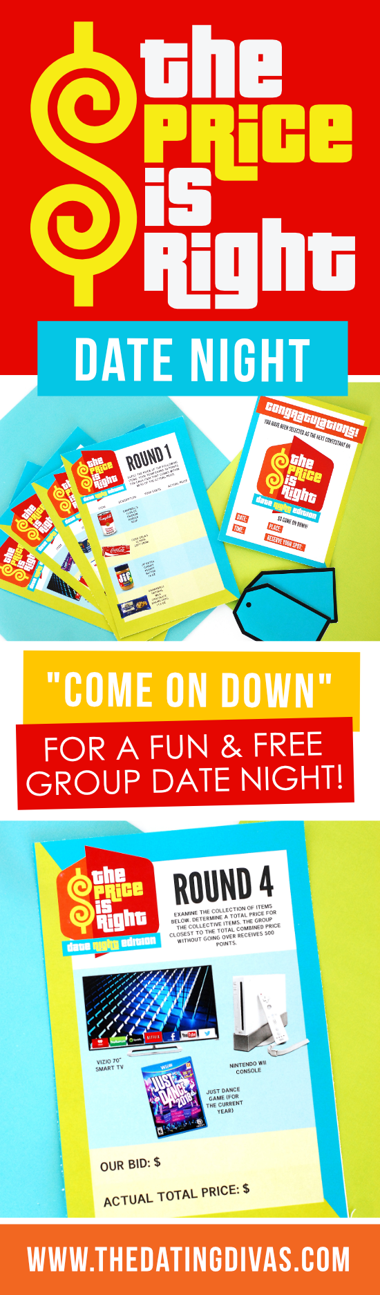 The Price is Right Game For Free #PriceIsRight #FreeDateNight #DateNightIdeas