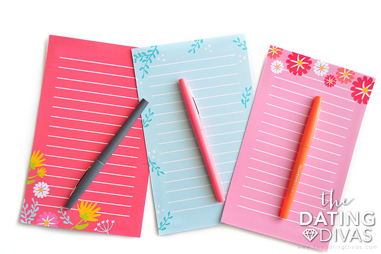 Write your Mother's Day Message on these printable stationery sheets.