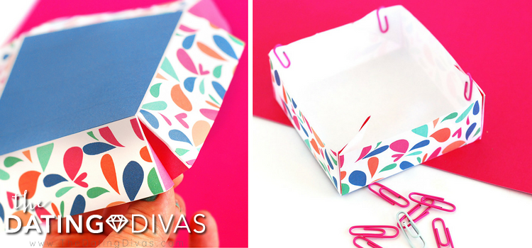 DIY exploding box tutorial guide. | The Dating Divas