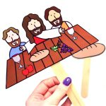 Printable Easter Story Puppets