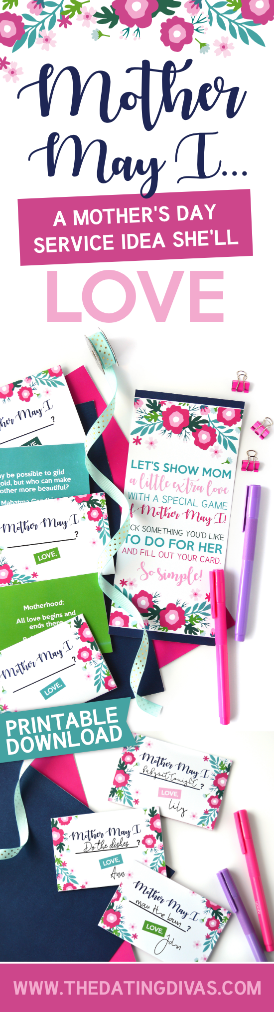 Such a great idea for what to do for Mother's Day. Plus it's super EASY and free! #whattodoformothersday #diymothersdaygifts #momquotes
