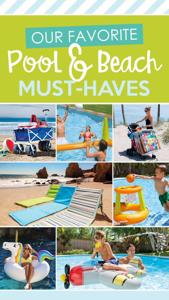 Um...this beach packing list is FULL of ideas for what to bring to the beach! AMAZING! Totally pinning this for summer! #beachessentials #swimminggames #whattotaketothebeach