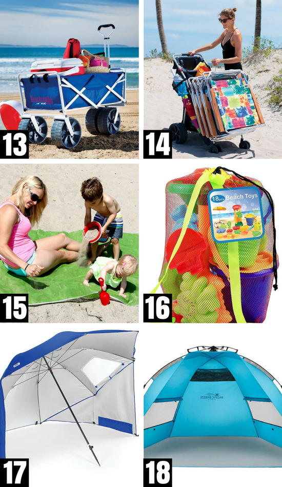 Beach Packing List With Things to Bring to the Beach #beachessentials #swimminggames #whattotaketothebeach