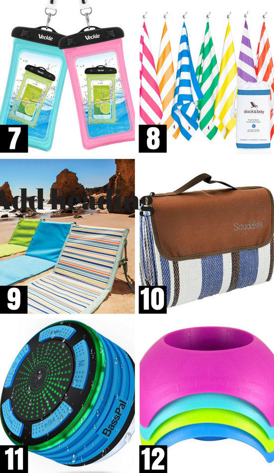 Pool and Beach Essentials What to Bring to the Beach #beachessentials #swimminggames #whattotaketothebeach