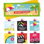 Summer Activity Board