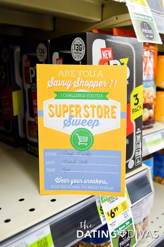 Super Store Sweep Couple Invite