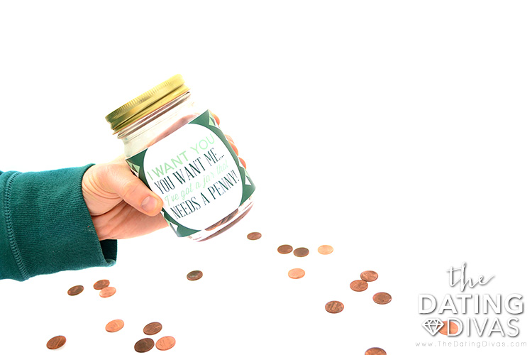 The penny date intimate jar is a cute date idea!
