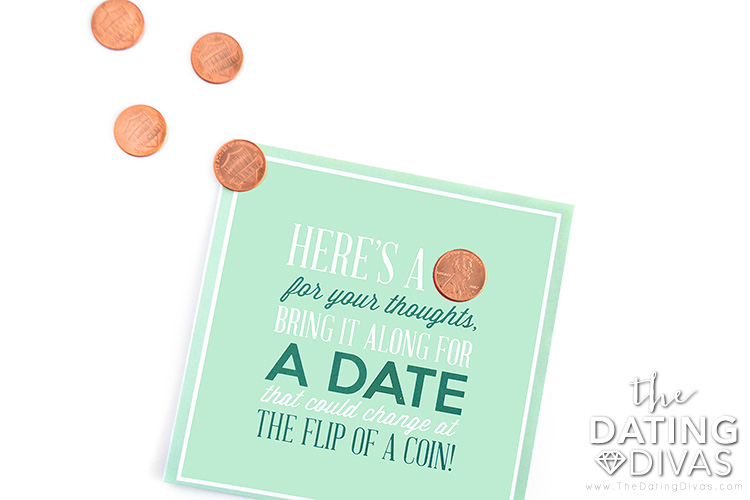 The Penny Date is a perfect spontaneous date idea.
