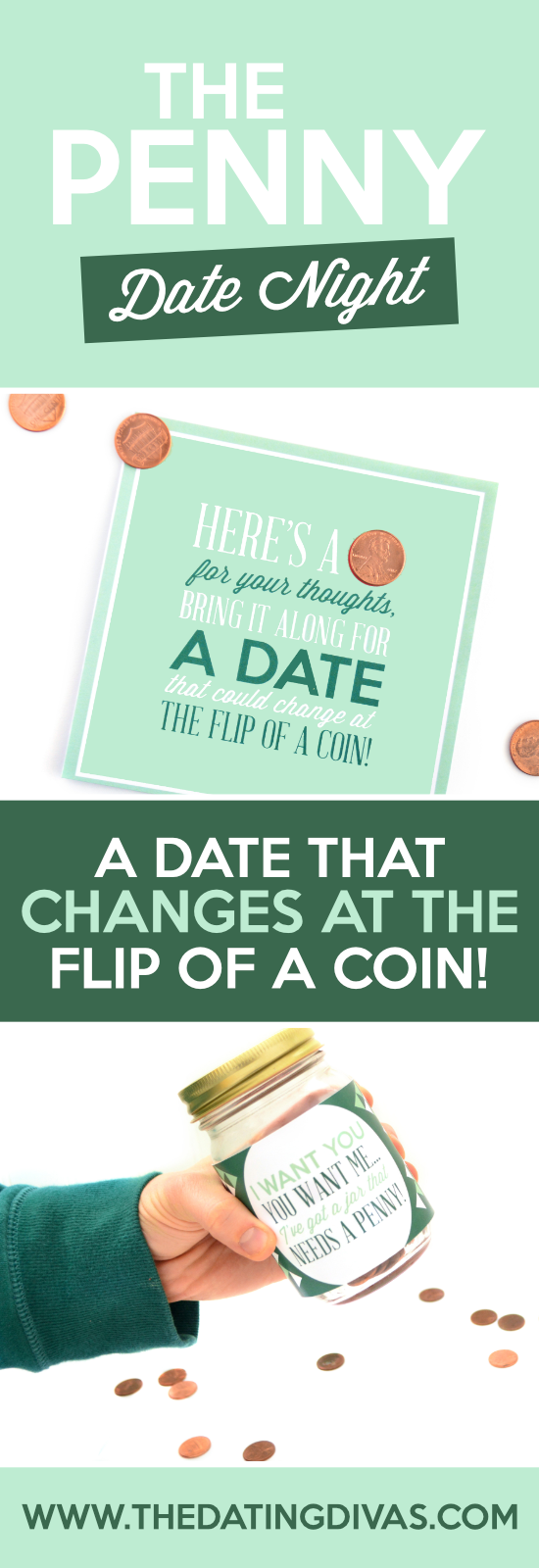 Go on the Penny Date! I love the easy penny date idea that's been going around! I can't wait to make the love jar that The Dating Divas added on. #PennyDate #SpontaneousDate #CuteDateIdea