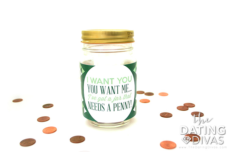 The Penny Date just gets better with an intimate penny jar.