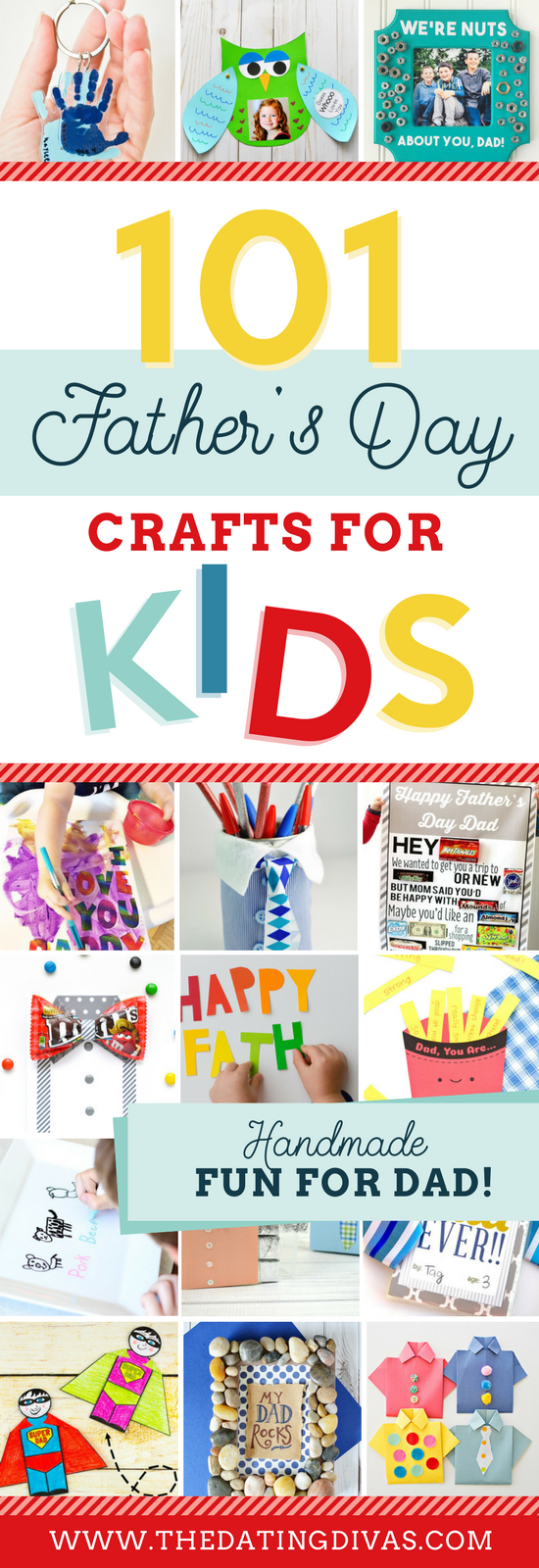 SO many great ideas for Father's Day crafts! My kiddos will love this! #