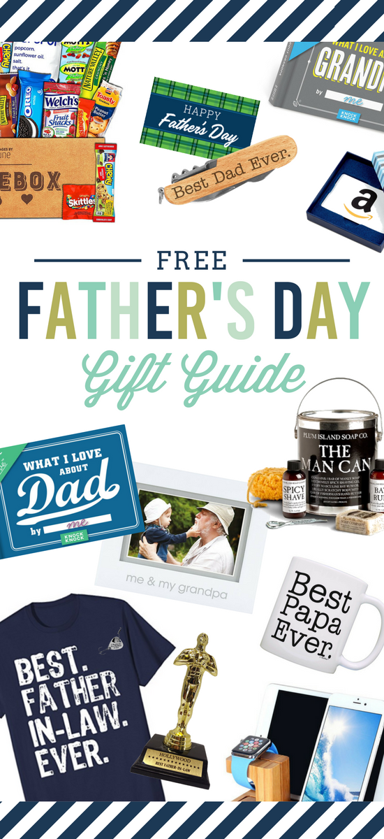 All the best Father's Day gifts in our FREE Father's Day Gift Guide PDF #fathersday #giftguide