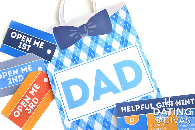 Father's Day Gift Bags and Tags