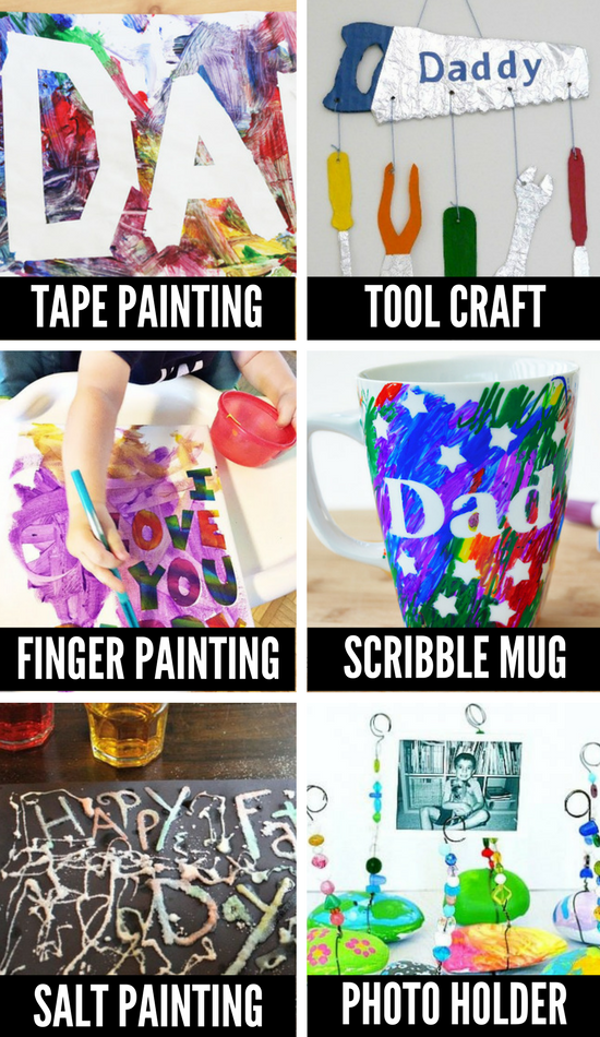 Father's Day Crafts and Art Projects for Kids