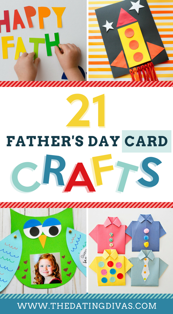 Father's Day Crafts and Card Projects