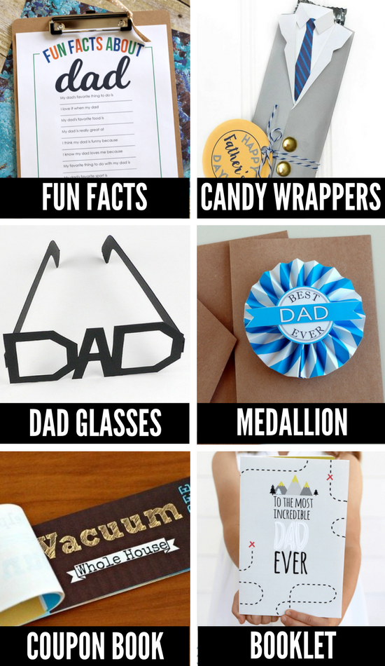Father's Day Crafts for Kids Printables
