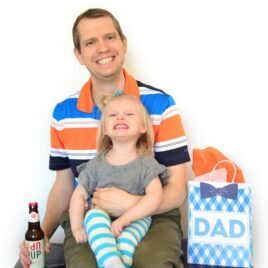 Father's Day Gift Bags from Kids