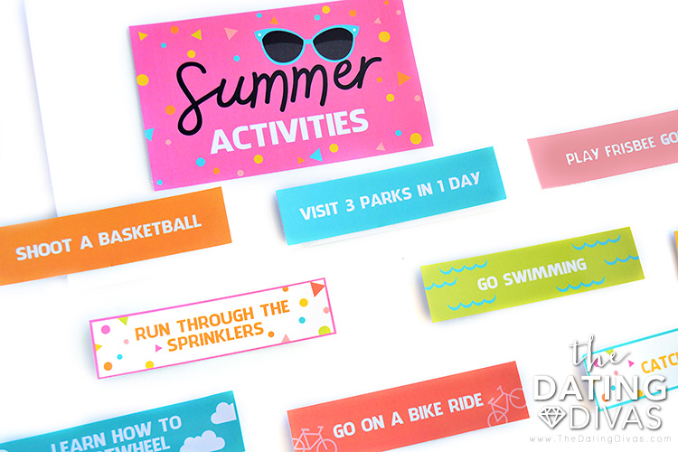 Fun Activities for Kids Summer Activities
