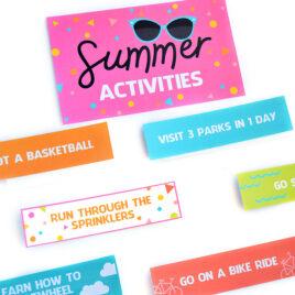 Fun Activities for Kids Summer Activity Ideas