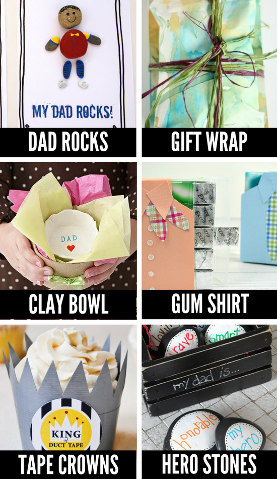 Homemade Father's Day Crafts for Kids