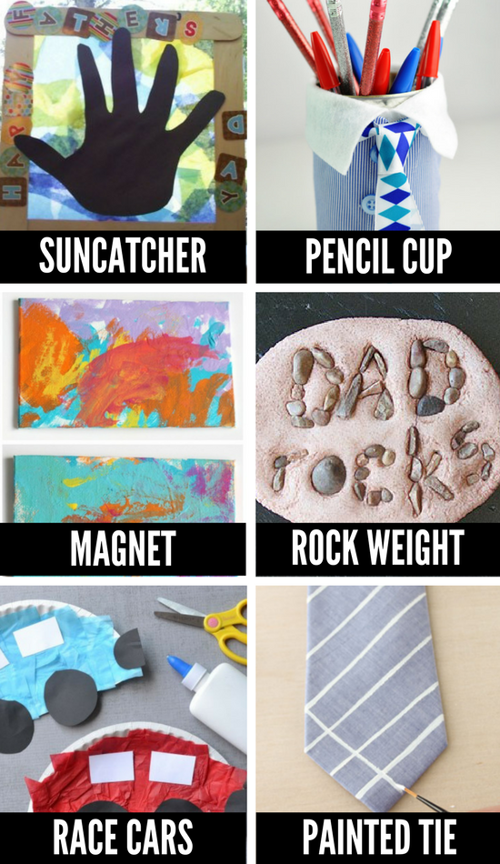 Ideas for Father's Day Crafts for Kids