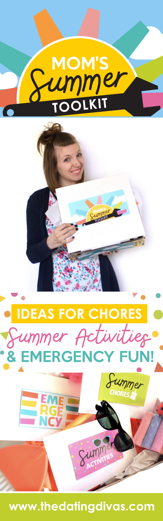 This totally solves our summer boredom problem! Plus thedatingdivas.com made it so cute! #FunActivitiesforKids #ChoresForKids #MomsSummerToolkit #TheDatingDivas