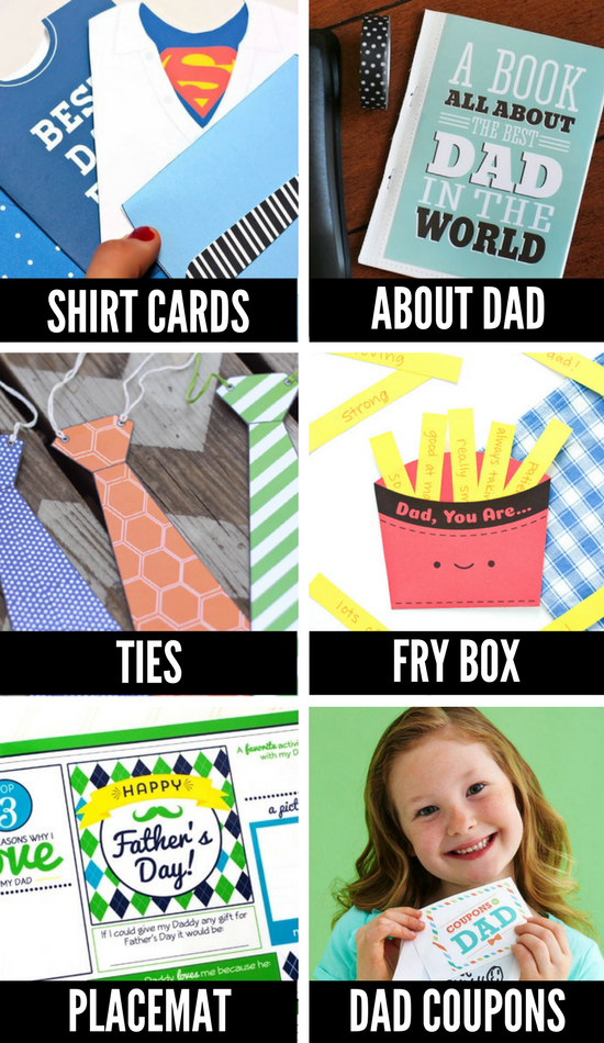 Printable Father's Day Crafts for Kids