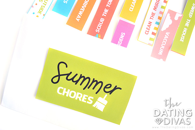 Summer Chores and Other Fun Activities for Kids
