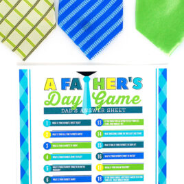The Father's Day Game