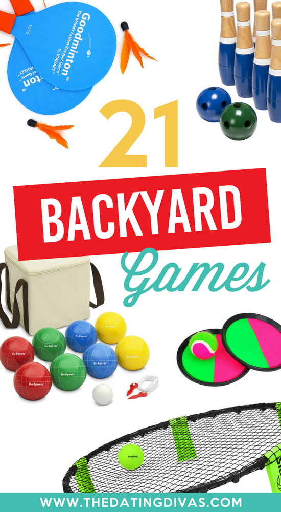 Summer Fun Ideas and Backyard Games