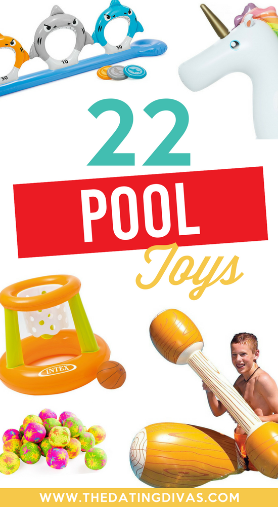 Summer Fun Ideas for the Pool