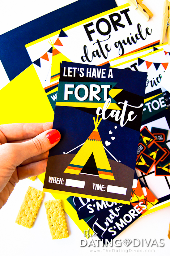 Blanket Fort Invite