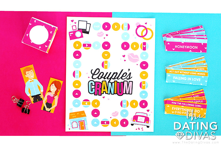 Couple's Cranium Board Game