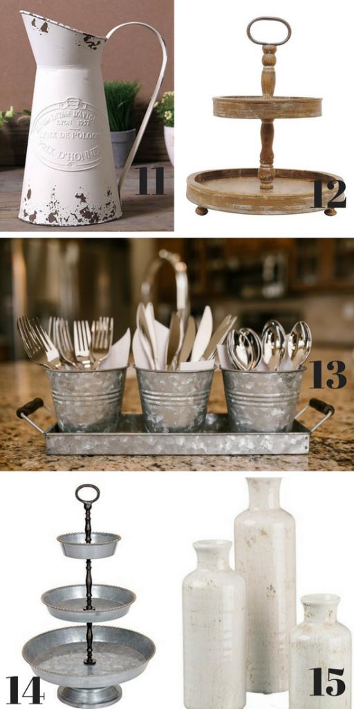 Farmhouse Kitchen Decorations