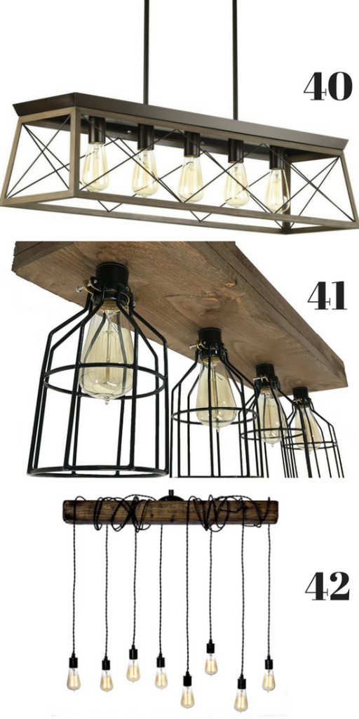 Darling Farmhouse Light Fixtures