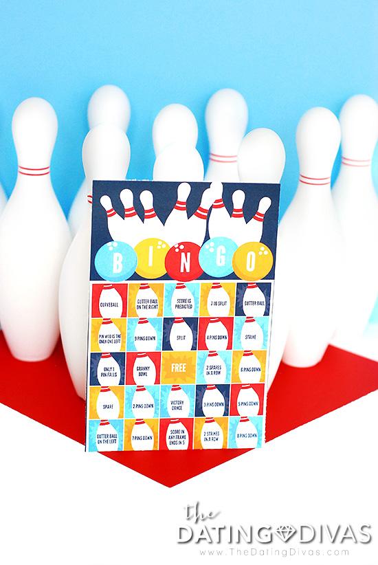 Fun Bowling Game Bowling Bingo