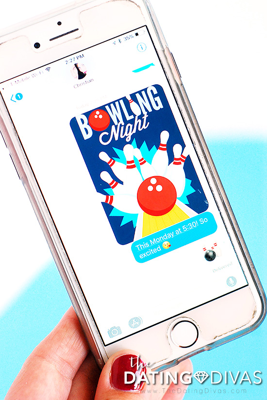 Fun Bowling Games Digital Invitation
