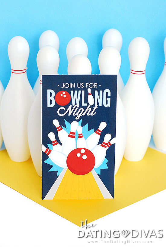 Fun Bowling Games Invitation