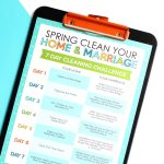 7 Day Spring Cleaning Challenge