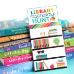 Library Books Scavenger Hunt for Kids