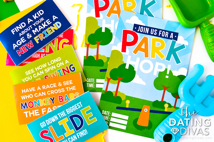 Party in the Park Invite