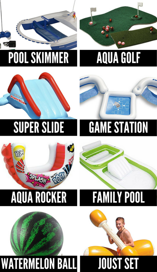 Pool Games and Toys for Summer Fun