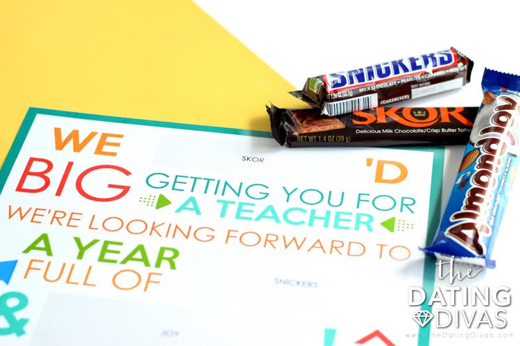School Candy Gram for Teacher